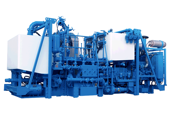 PCS-621B Auto Density Control Twin-Pump Cementing Skid