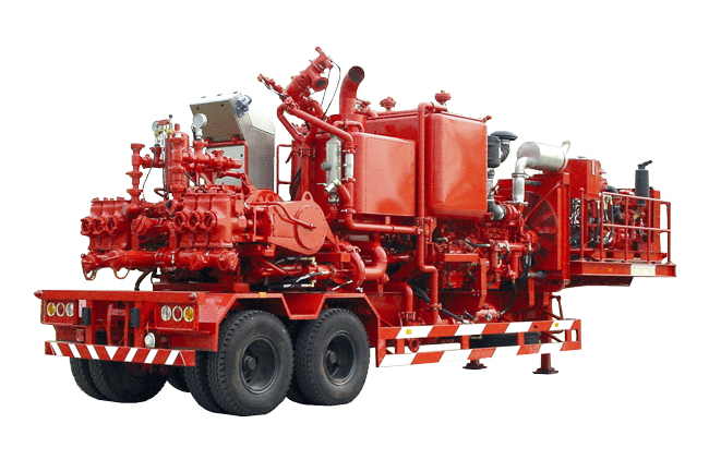 PCTLR-521A Auto Density Control Double Pump Cementing Traile