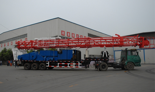 2000m trailer rig [ Conventional Drilling - 2000 Meters ]
