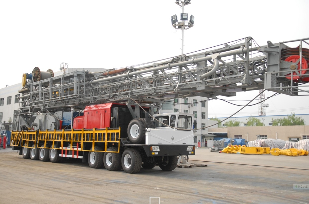3000m truck-mounted rig [ Conventional Drilling - 3000 Meters ]