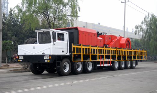 4000m truck-mounted rig [ Conventional Drilling - 4000 Meters ]