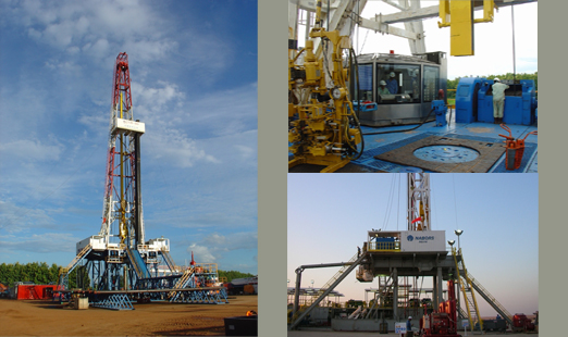 5000m digital-control VF electric rig [ Conventional Drilling - 5000 Meters ]