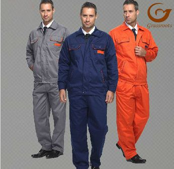 cotton/nylon labour suit workwear for man