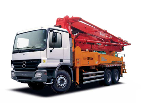 37M Concrete Pump Trucks