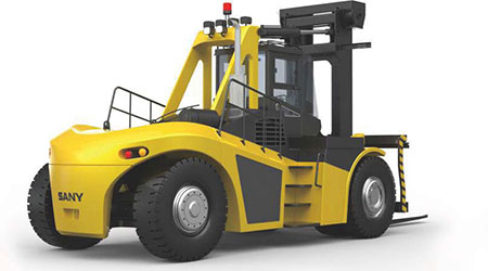 Heavy Duty Forklift Trucks:SCP350C