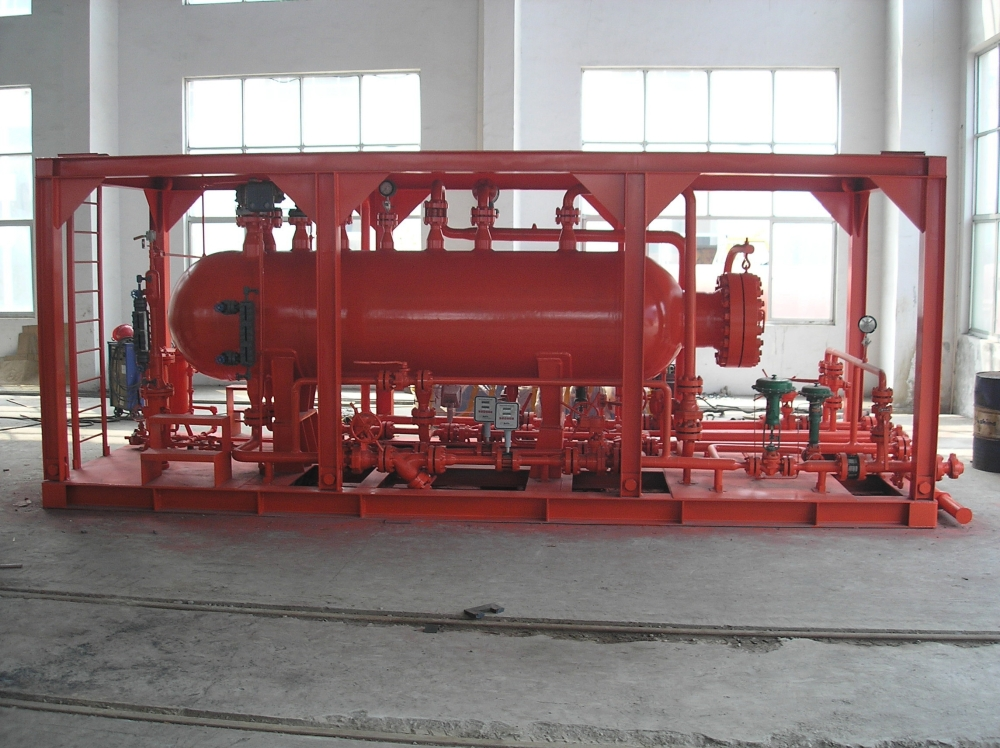 Test and Metering Equipment Skid