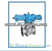 Hydraulic Double Acting Ball Valve Q941F