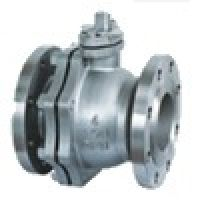 2 pcs flanged ball valve