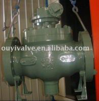 8''-600lb top entry ball valve