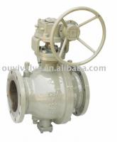 floating ball valve two piece