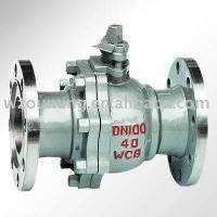 stainless steel 2 pc flanged ball valve(flange ball valve,high pressure ball valve)