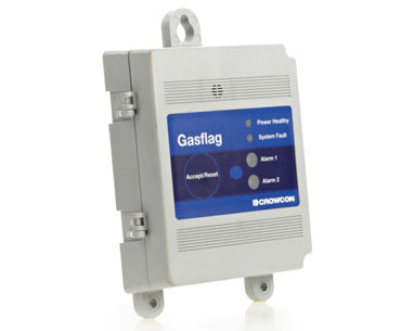 Gasflag Detection Control System